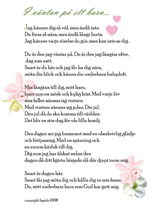 dikt till mamma begravning